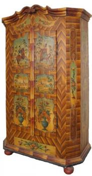 Wardrobe - solid wood, spruce wood - 1830