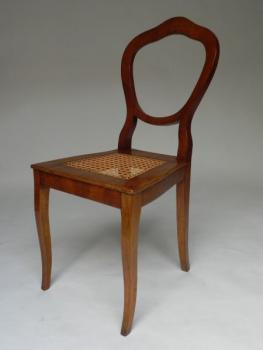 Chair - solid wood, veneer - 1840