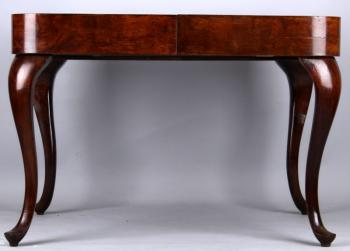 Extending Table - solid wood, walnut wood - 1900