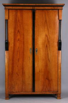 Wardrobe - ash wood - Biedermeier - 1830
