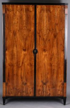 Wardrobe - walnut wood - Biedermeier - 1830