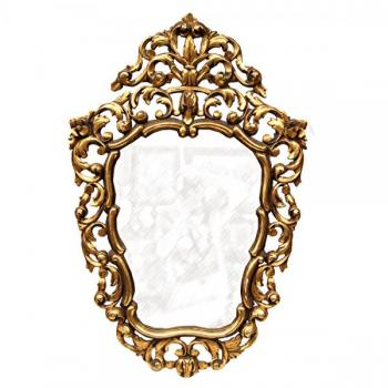 Mirror - wood, plaster - 1890