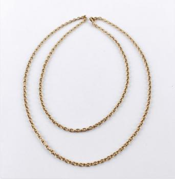 Gold Necklace - yellow gold - 1960