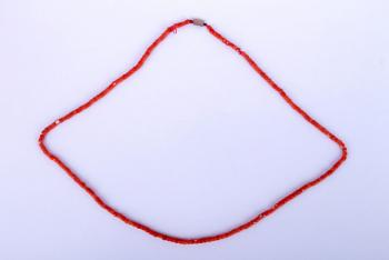 Coral Necklace - coral - 1950