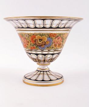 Glass Bowl - manufactura Kamenicky Senov Bohemia - 1930