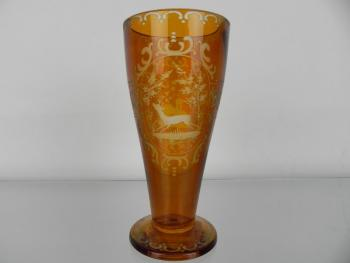 Glass - clear glass - Egermann Bohemia - 1920
