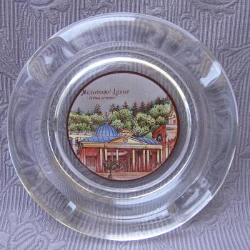 Glass Ashtray - 1930