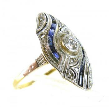 Ladies' Gold Ring - 1920