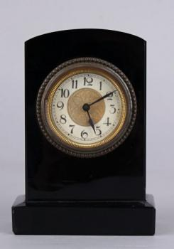Mantel Clock - glass - 1930