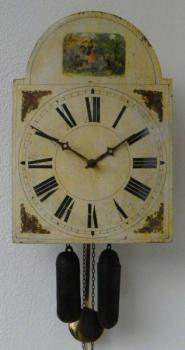 Wall Timepiece - wood - 1870