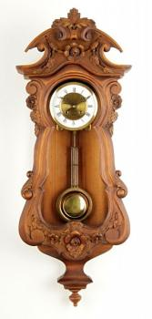 Wall Timepiece - wood, metal - 1920