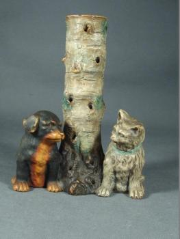 Animals - ceramics - Johann Maresch - 1880