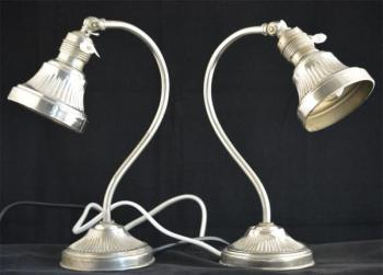 Pair of Lamps - metal - 1930