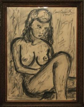 Nude Painting - Jan Bauch (1898 – 1995) - 1945