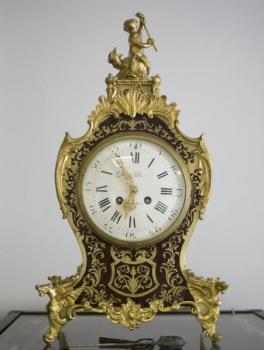 Boulle Clock - bronze, wood - 1860