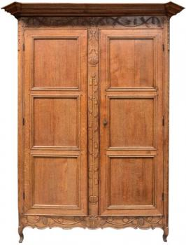 Wardrobe - solid oak - 1770