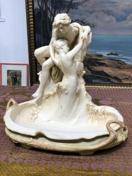 Porcelain Figural Group - Royal Dux - 1910