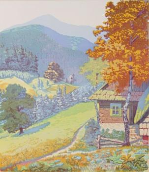 Mountain Landscape - 1950