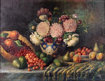Still Life with Flowers - 1935