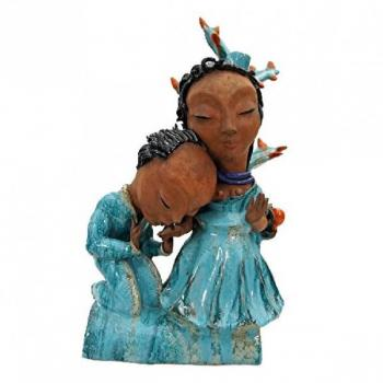 Ceramic Figurine - glazed stoneware - 1920