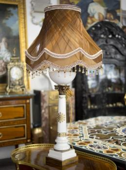Pair of Lamps - porcelain - 1900