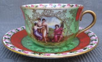 Cup and Saucer - 1945
