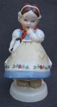 Porcelain Girl Figurine - 1930