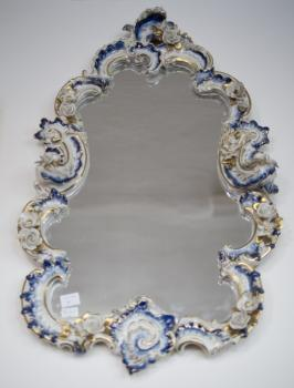 Wall Mirror - porcelain - 1930