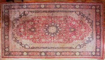 Iran Carpet - cotton, wool - 1980