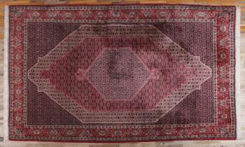 Iran Carpet - cotton, wool - 1985