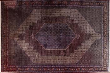 Iran Carpet - cotton, wool - 1978