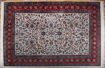Iran Carpet - cotton, wool - 1990