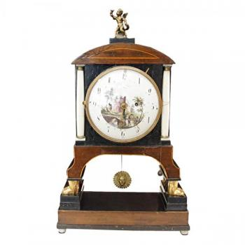 Mantel Clock - Dominik Stanzl in Brünn - 1850