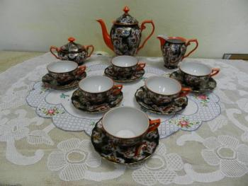 Tea Set - porcelain - 1930