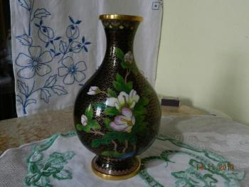 Vase - metal - Cloisonne China - 1920
