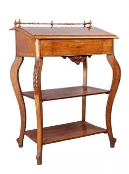 Writing Table - oak - 1870