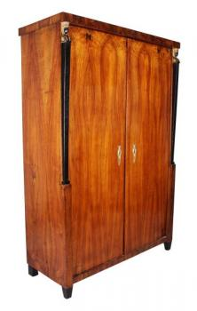 Wardrobe - walnut wood - 1820