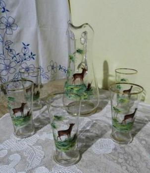 Glass Set - glass - 1800