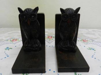 Bookends - wood - 1930
