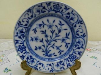 Decorative Plate - white porcelain - 1919