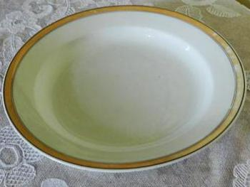 Bowl - white porcelain - 1880