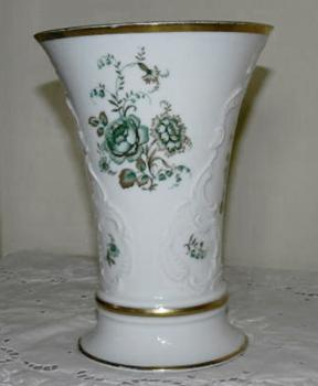 Vase from Porcelain - white porcelain - 1930