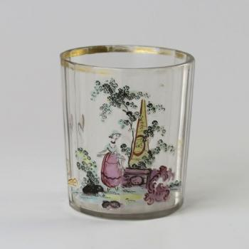 Glass - clear glass - Harrachov Bohemia - 1770