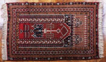 Afghan Carpet - wool - 1980