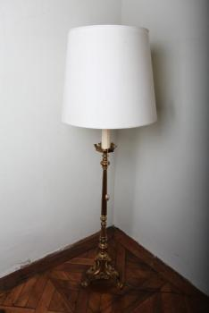 Floor Lamp - brass - 1980