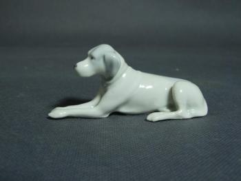 Porcelain Dog Figurine - porcelain - 1930