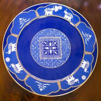 Decorative Plate - porcelain - 1935