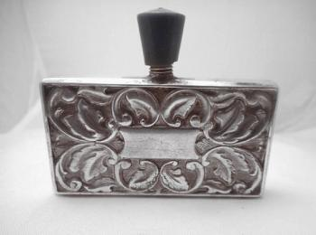 Silver Box - silver, chiseled silver - 1930