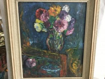 Still Life with Flowers - 1962