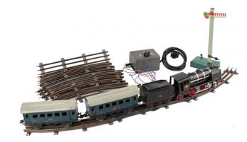Toy Train - metal - 1950